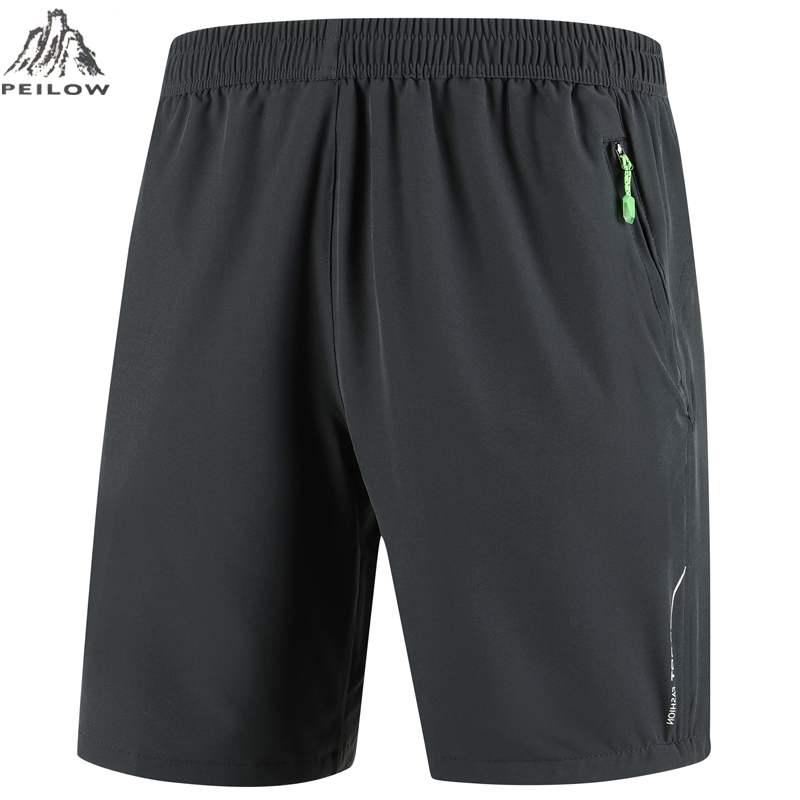 PEILOW Plus Size 7XL 8XL 9XL Shorts Men New 2019 Casual Shorts Male Loose Quick Drying Beach Shorts Jogger Sporting Trousers