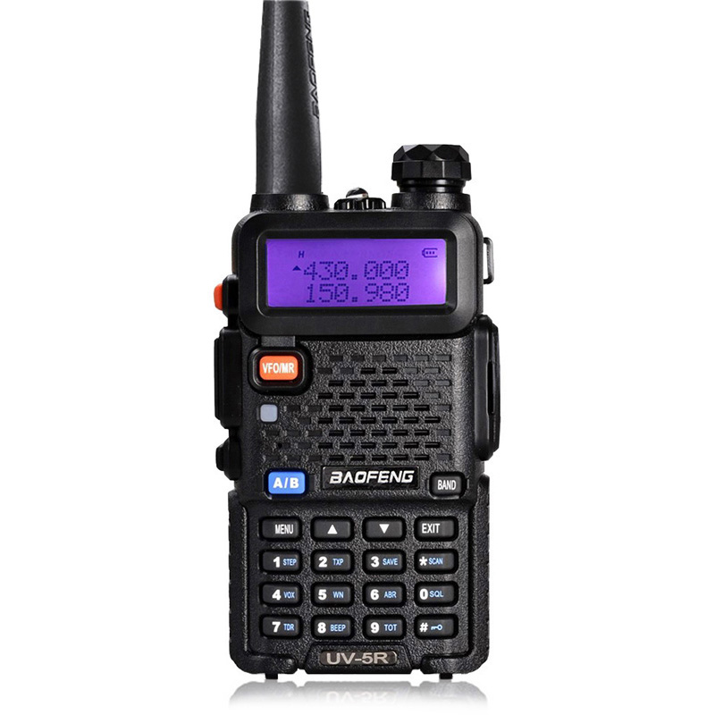 Baofeng Uv-5r Walkie Talkie Radio VHF UHF 136-174MHz 400-520MHz Portable Radio For Hunting Baofeng Uv 5r