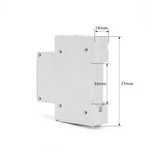 Image 4 - HOCH RDCBC 1P не WIFI автоматический выключатель Пульт дистанционного управления eWeLink таймер умный дом din рейку переключатель завод