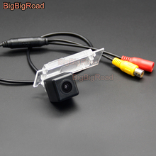 BigBigRoad Vehicle Wireless Car Rear View Backup Parking Camera HD Color Image For Mercedes Benz Smart Fortwo 2017 Waterproof