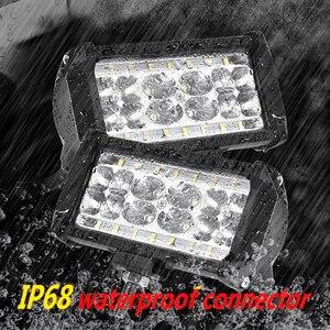 Image 3 - Aeobey 2pcs 5inch 28 led light bar 8400 Lumen Led headlight for off road 4x4 4WD ATV UTV SUV 12V 24V Car light work light bar