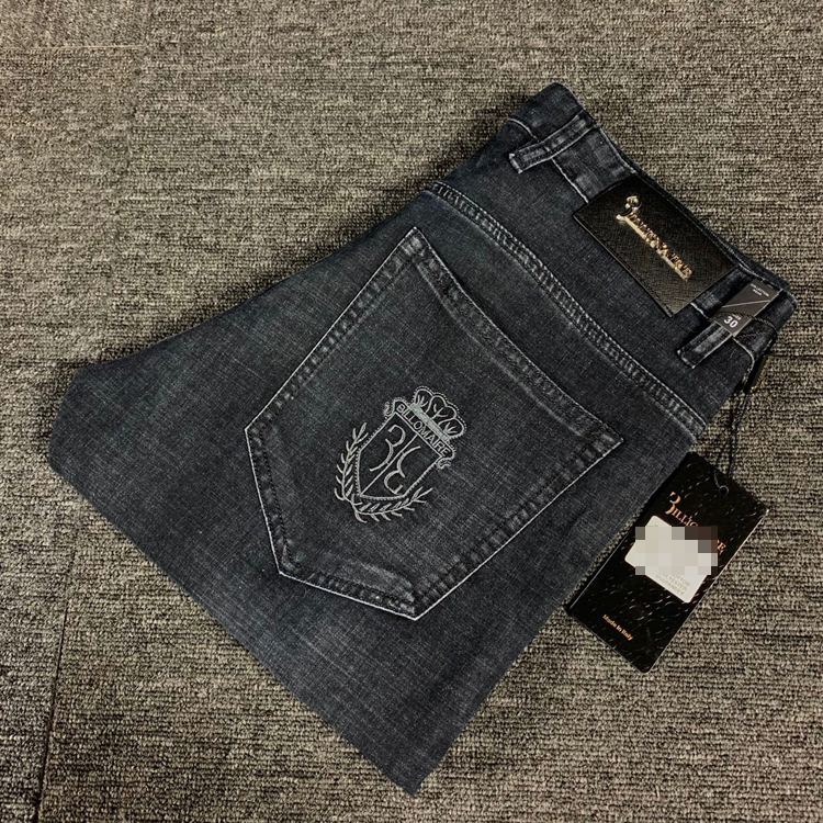 BILLIONAIRE Jeans Men 2020 New Summer Thin Cotton Elasticity Fashion Zipper British Casual Breathable Size 29-42 Free Shippng