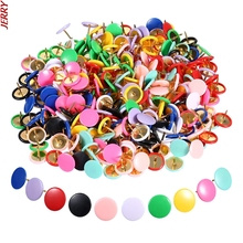 New 100 Round Pushpins Tack Pin Bulletin Board Cork Paper Map Point Office Binding Supply