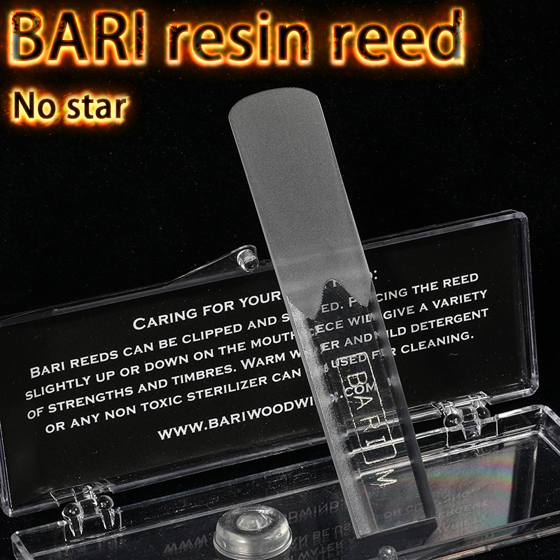 The USA BARI Resin Reed Eb Alto Bb Soprano Tenor Sax Reed No Star