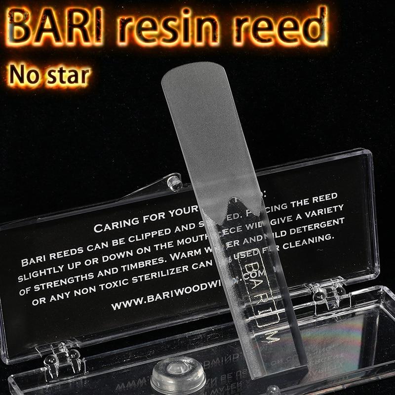 The USA BARI Resin Reed Eb Alto Bb Soprano Tenor Sax Reed No Star
