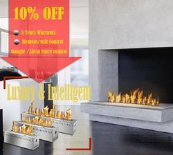 Inno-Live fire 18 дюймов интеллектуальная био пожарная топливная горелка современный биоэтанол дистанционный камин