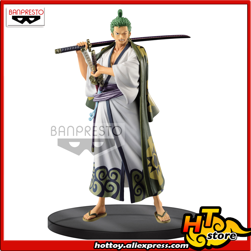 100% Original Banpresto DXF -THE GRANDLINE MEN- Wano Country Vol.2 Collection Figure - Zoro From