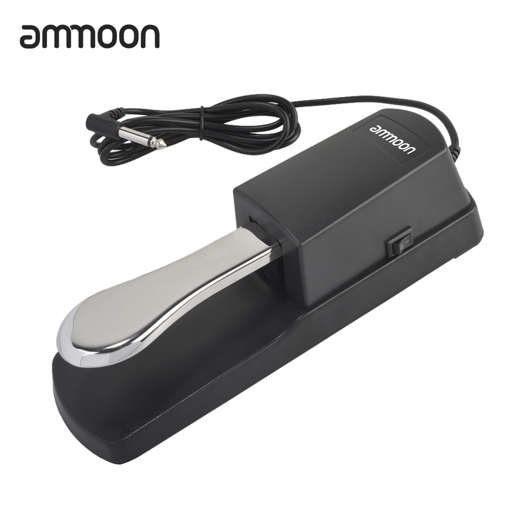 ammoon Piano Keyboard Sustain Damper Pedal Roland Electric Piano electronic keyboard Electronic piano pedal New upgrade