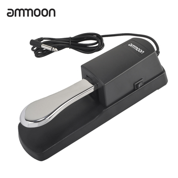 ammoon Piano Keyboard Sustain Damper Pedal Roland Electric electronic keyboard Electronic piano pedal New upgrade - discount item  20% OFF Musical Instruments