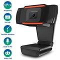 Широкоугольный HD USB ПК веб-камера с шумоподавлением Микрофон Skype видео конференции онлайн обучение живая камера для компьютера