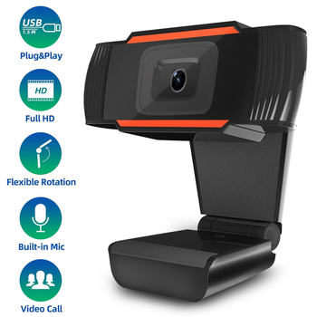Wide Angle HD USB PC Webcam With Noise Cancellation Microphone Skype Video Conference Online Teaching Live Camera For Computer spedal 120° wide angle webcam full hd 1080p with tripod usb camera video conference for computer mac pc