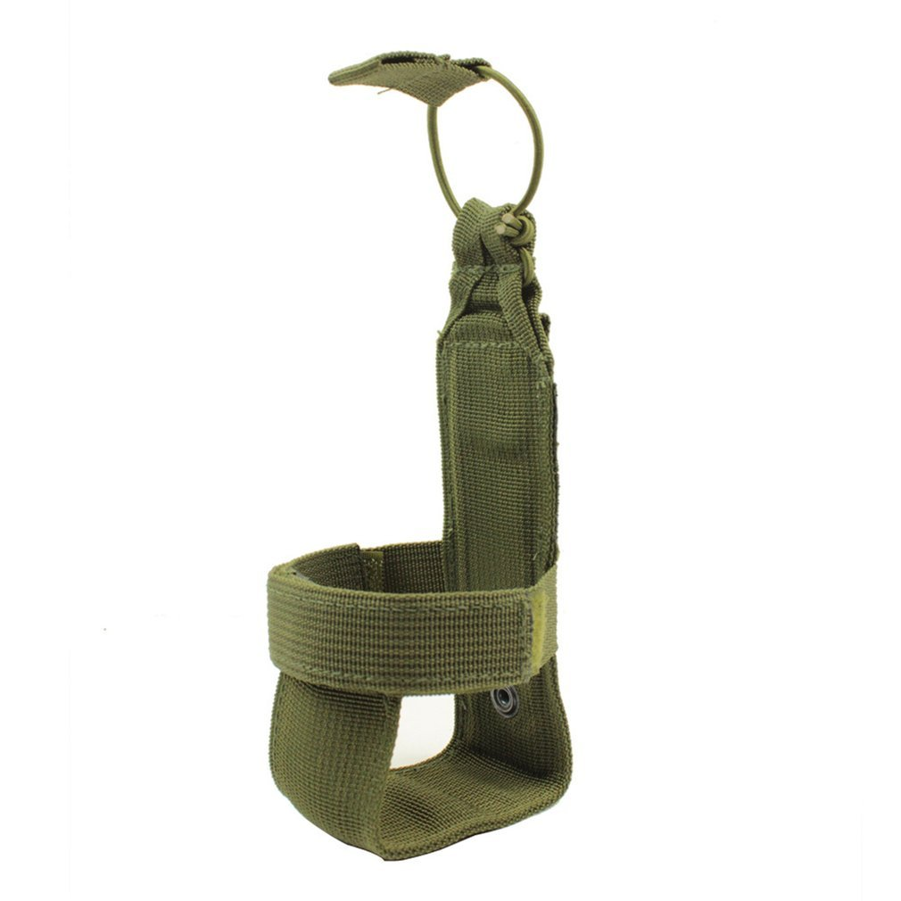 OUTAD Military Tactical Molle Water Bottle Pouch Nylon Adjustable Magic Tape Outdoor Camping Hiking Travel Kettle Bag