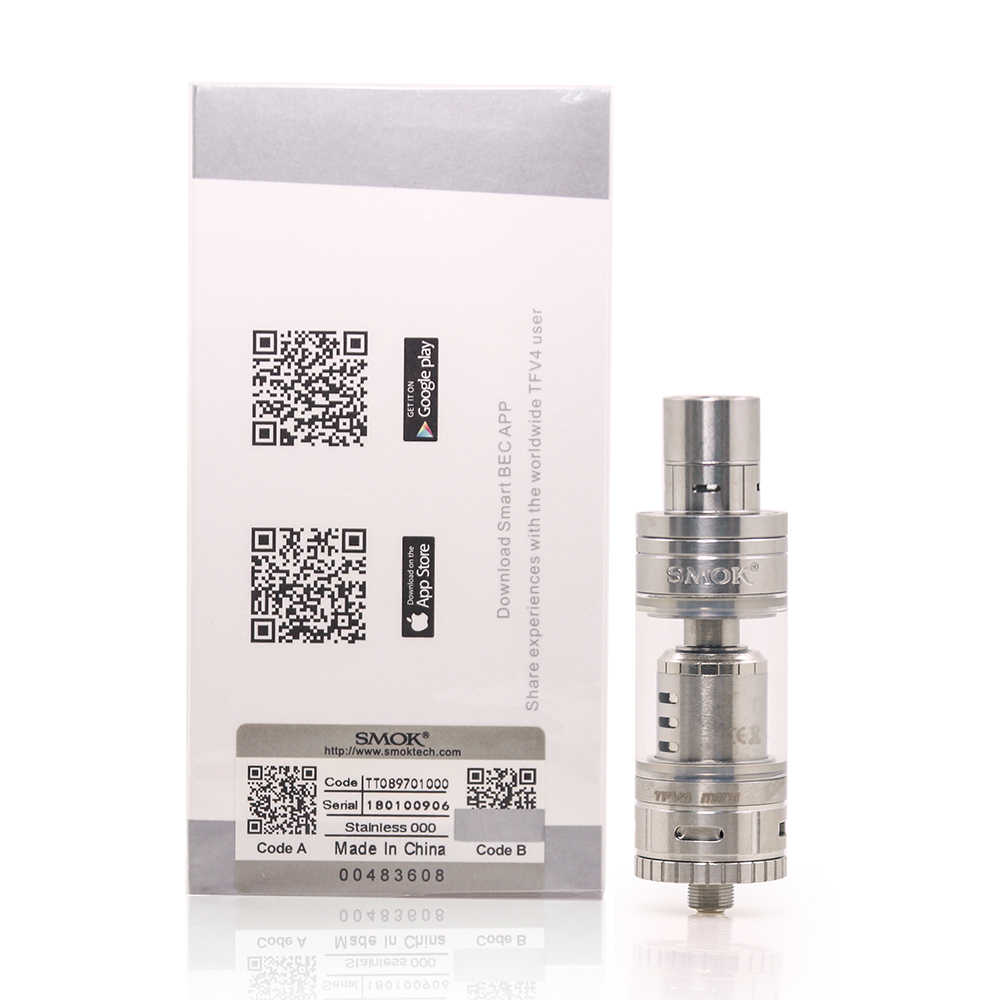 オリジナル SMOK TFV4 ミニアトマイザー 3.5 ミリリットル気化器 V4 ミニタンク R80 ため Koopor ミニ 2 Mod Xcube ミニ電子タバコ蒸気を吸う