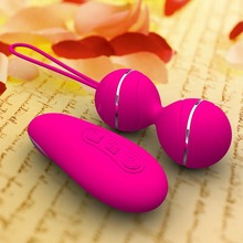 Silicone Vibrating Egg Sex Toys For Women Smart Love Ben Wa Ball Kegel Vaginal Trainer Wireless Remote Rechargeable Sex Product wireless remote waterproof ben wa ball jump eggs kegel vaginal tight exercise smart love ball vibrating egg sex toys for women