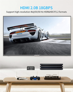 Image 4 - 2020 הטוב ביותר HDMI 2.0 אודיו Extractor תמיכת 4K 60Hz YUV 4:4:4 HDR HDMI אודיו ממיר מתאם 4K HDMI כדי אופטי TOSLINK SPDIF