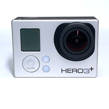 100%Original For GoPro HERO3+ Silver Edition Adventure Camera+Battery+ charging data cable