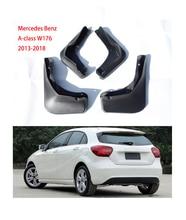 For Mercedes Benz accessories For Mercedes Benz A-class mudguards W176 2013-2018 Mud Flap Benz A-class car fender mudSplashguard