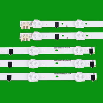 TV LED Bars For Samsung UE32F4000AW UE32F5000AK UE32F5030AW UE32F5300AW UE32F5300AK LED Backlight Strip Kit 9 Lamp Lens 5 Bands tv led backlight strip for lg 47la615v 47la615s 47 inchs backlight led tv bands light bars lamps strips complete set replacement