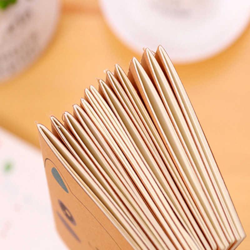 1 Pcs/lot Kawaii Kertas Kraft Retro 64K Mini Diary Kosong Dalam Notebook Alat Tulis Sekolah Alat Tulis Kantor Sketchbook