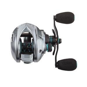 Image 2 - Kawa Fishing Reel New Model Three Aluminum Spools Magnetic Brake Cork Knob Bearing 11+1 Max Drag 8KG Weight 219.5g