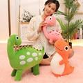Novo 30/40/50cm bonito pelúcia dinossauro brinquedos kawaii dinossauro pelúcia animais de pelúcia boneca de enchimento de brinquedo para o menino crianças presente de aniversário
