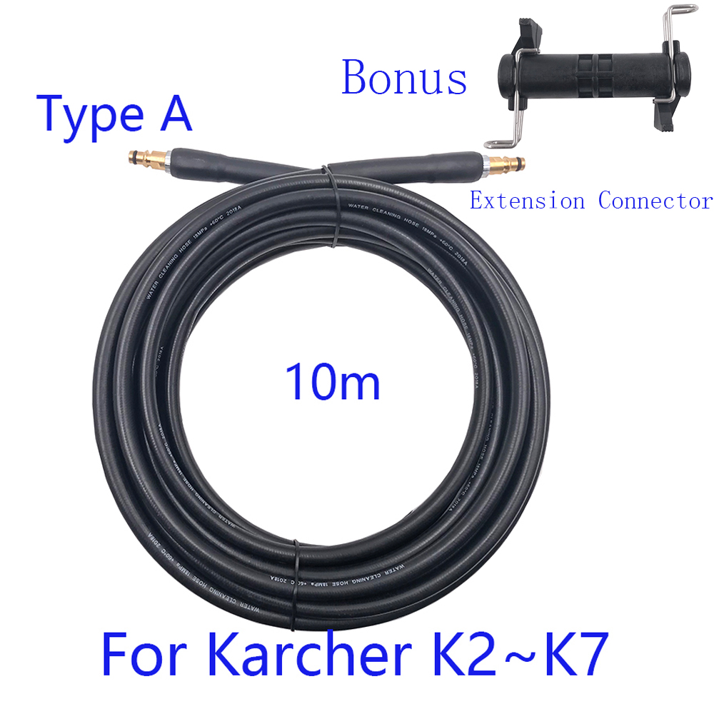 10m High Pressure Washer Water Cleaning Hose Pure Copper For Karcher K2 K3 K4 K5 Car Wash