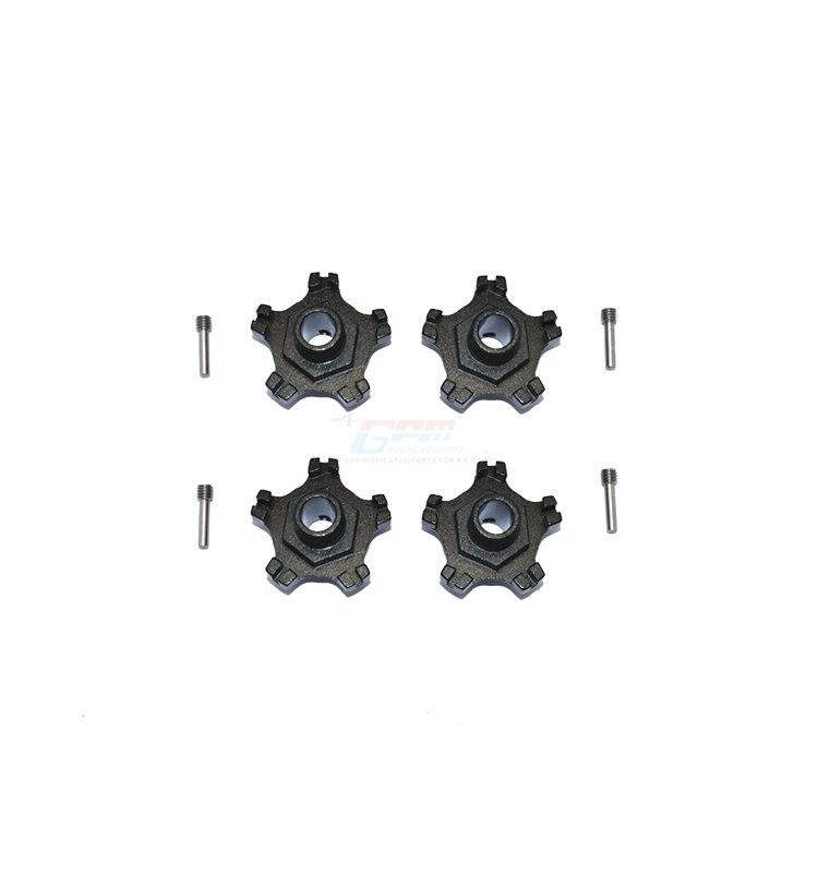Gpm roda de alumínio hex (+ 6mm)