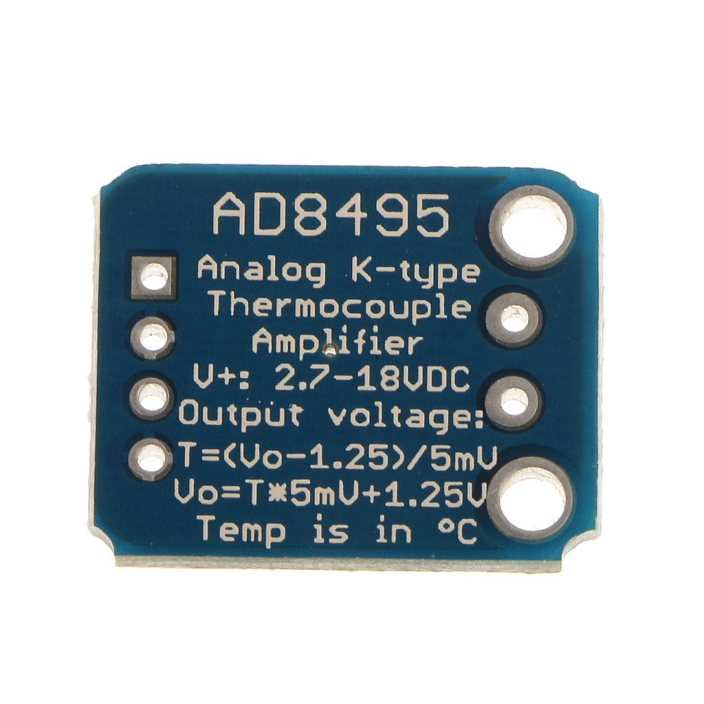 Replace AD8495 ARMZ Thermal Analog Output K-Type Thermocouple Amplifier