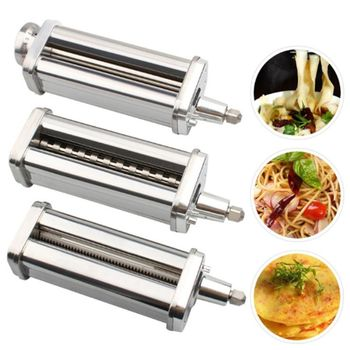 Noodle Makers Repair Parts for Thin/Thick/Flaky Noodles Cutter Roller for Stand Mixers Kitchen Aid Pasta Food Processor U1JE food mixers bosch mfq2210d home kitchen appliances processor machine equipment for the production of making cooking
