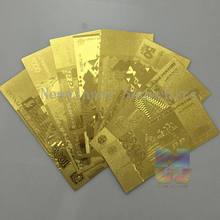 8 sztuk/partia rosja złoty banknot zestaw 5,10,50,100,500,1000,5000 pieniądze papierowe ruble rosyjski darmowa wysyłka