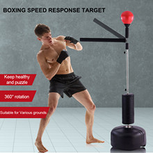 Heavy Stand Punching Bag With 360 Reflex Bar Adjustable Height Fight Training Boxing Ball Home Gym Fitness Boxing 25kg