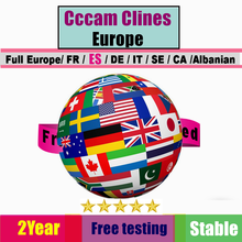 2year 7 clines Cccam Portugal For Spain Oscam Germany DVB S2