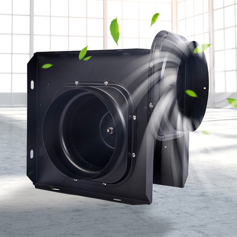 4 Inch 220V Inline Duct Fan, Exhaust Extractor Fan HVAC Mixed Flow Energy Efficient Ventilation Fan For Ducting Or Grow Tent