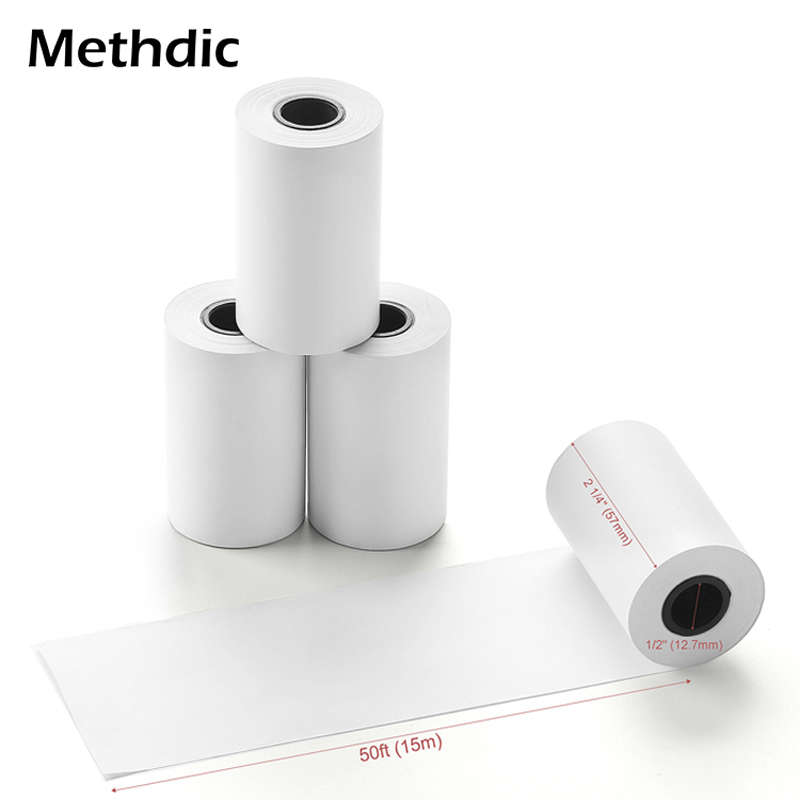Methdic  2 1 4 X 50 Thermal Credit Card Paper Rolls 10rolls/set For ATM