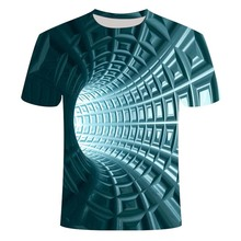 2020 Men's Fashion 3DT Shirt Summer Fashion