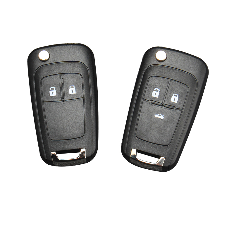 Replacement 2 button flip Key Case Shell For Vauxhall Opel Astra J remote Fob