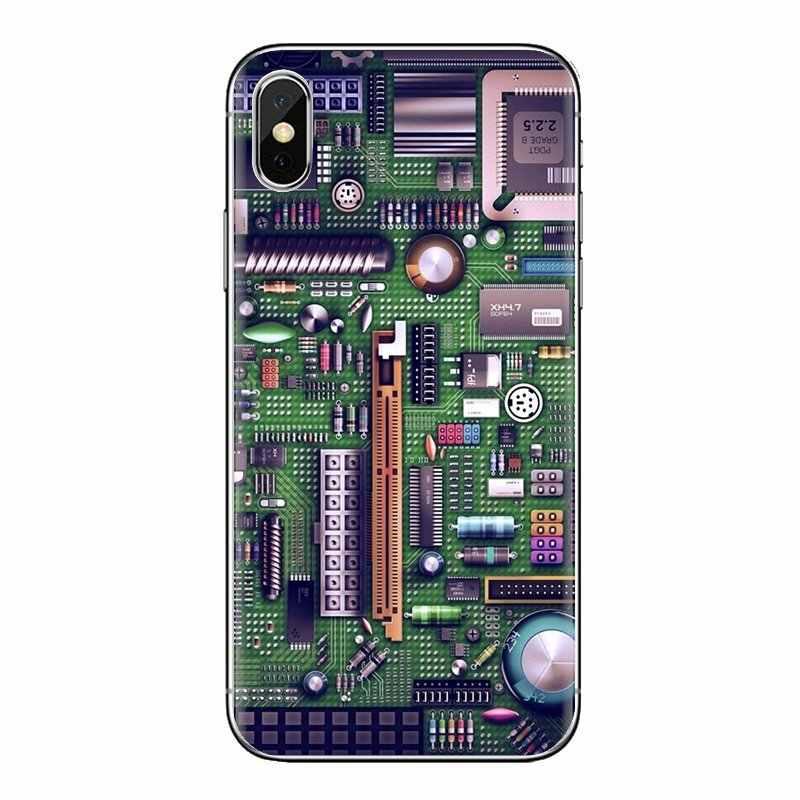 Para LG G3 G4 Mini G5 G6 G7 Q6 Q7 Q8 Q9 V10 V20 V30 X Power 2 3 K10 k4 K8 2017 funda de silicona placa de circuito de batería de ordenador