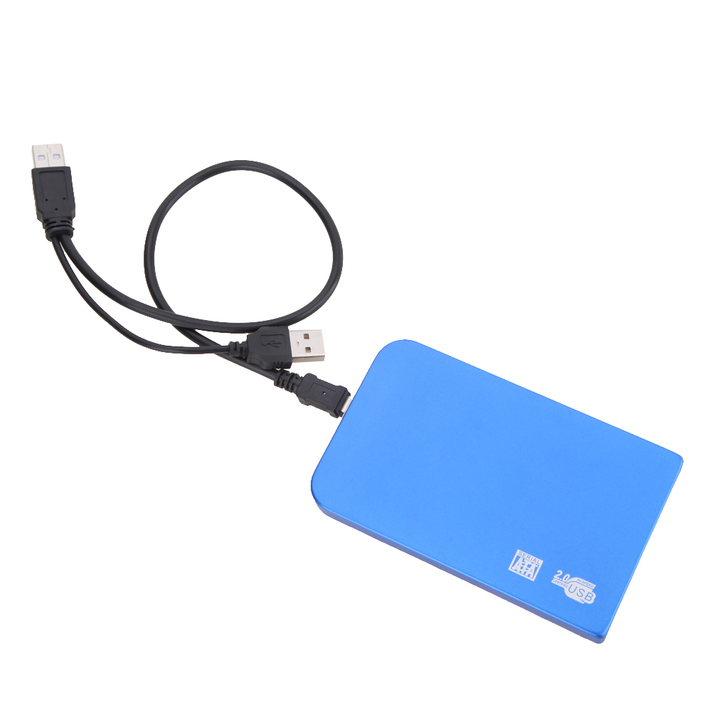 Wholesale New Ultra-Slim USB 2.0 Hard Drive External Enclosure Case For 2.5 Inch SATA HDD SSD