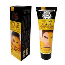 Face Care Moisturizing Whitening Facial Mask 24K Gold Collagen Anti-Wrinkle Face Lifting กระชับ Peel Off Mask(China)
