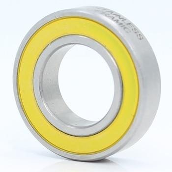 Rodamiento de acero inoxidable 6902-2RS, 15x28x7mm (1 unidad), ABEC-3, 6902 RS, rueda...