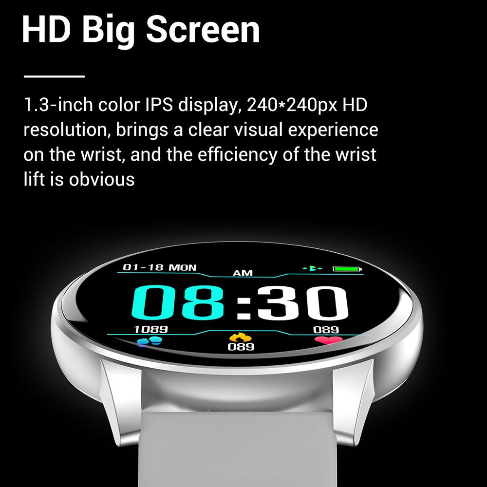Heart Rate Blood Pressure Oxygen <font><b>Q5</b></font> Smart <font><b>Watch</b></font> Men and Women IP67 Waterproof Sports Path Weather Forecast SmartWatch image