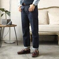 Red Tornado 710 Slim Stright Fit Jeans 14oz One Wash Selvedge Denim For Men Ivy