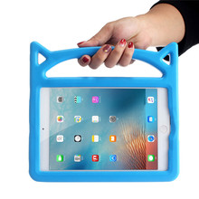 Cute Little Devil EVA Tablet Case for iPad 2/3/4 iPad2 iPad3 iPad4 Kids Friendly Shockproof Kickstand Protector Cover Skin Shell