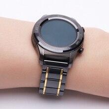 Correa de cerámica de 20mm para Huawei watch 2, repuesto de pulsera para samsung galaxy watch samsung gear s2 s4