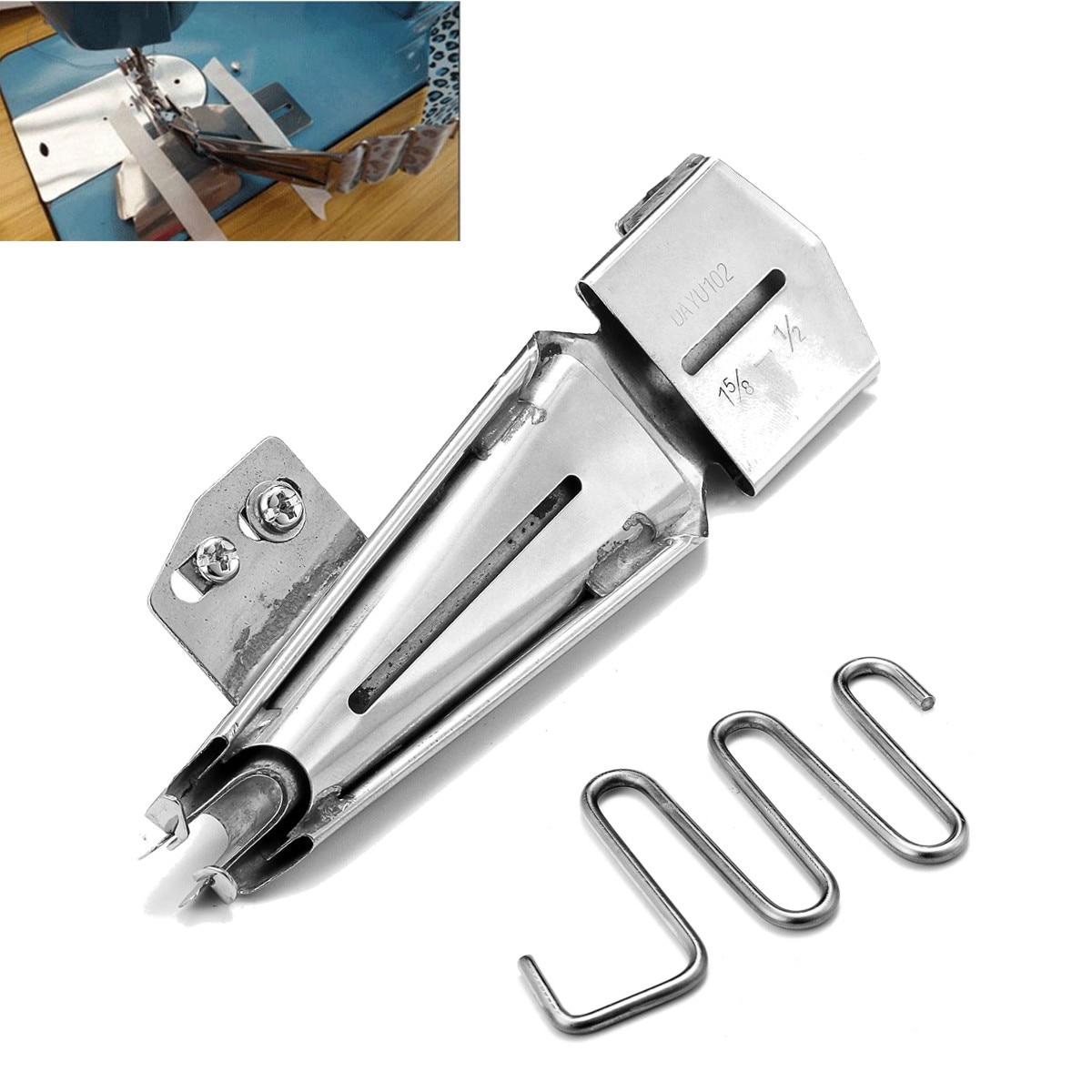 Nähmaschine Nähfüße Näharbeit Presser Zubehör Haushalt Ring Kunststoff Legierung