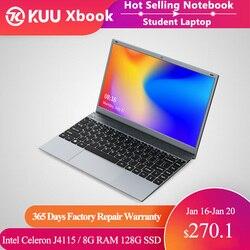 14.1 Polegada 8gb ddr4 ram estudante computador processador intel bluetooth wifi windows 10 computador portátil notebook estudante teclado tamanho completo
