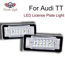 цена на 2Pcs LED License Number Plate Light Lamps For 1999-2006 1st Gen Audi TT 8N Roadster 8N9 Coupe 8N3