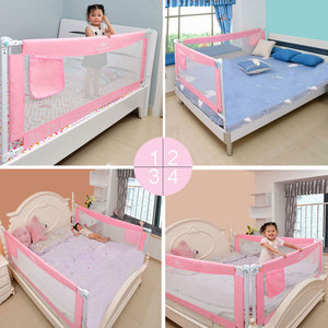 Image 3 - children security bed fence barrier foldable rail barrier kids playpen safety baby guardrail fence playground safe fencing rails