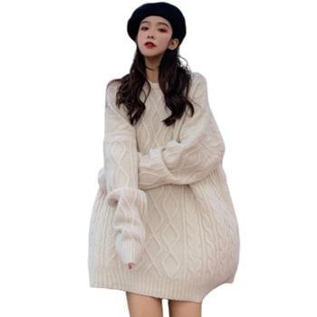 Pullover Oversized Knitted Sweater Women Befree Harajuku Pull Femme Jumper Sueter Mujer Truien Dames Autumn Streetwear Korean цена 2017