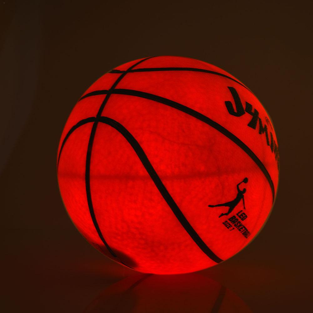 Night Light Basketball High Brightness LED Growing Rubber Basketball For Training Freestyle Performances Good Gifts Newer